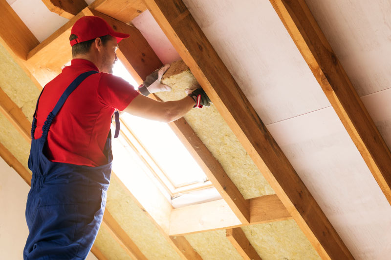 attic insulation, spray foam, sound proofing, batt, and blown insulation installations